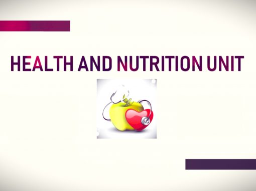 Health and Nutrition Section
