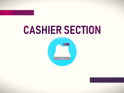 Cashier Section