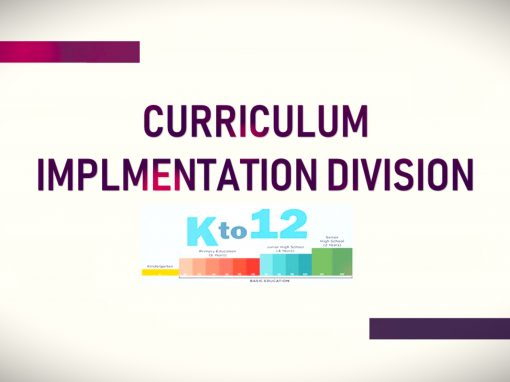 Curriculum and Implementation Division